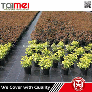 Anti UV Plastic Agricultural Landscape Fabric PP Woven Ground Cover Weed Control Mat pictures & photos