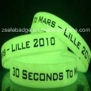Glow in The Dark Silicone Wristband (Ele-WS014) pictures & photos