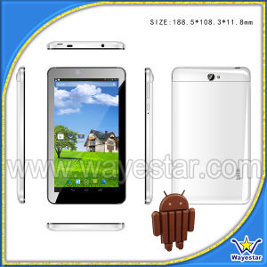 7 Inch IPS Mtk8382 Quad Core 1GB/8GB Bt GPS 3G Android 4.4 Tablet Phone