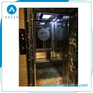 800kg 1.0m/S Luxurious Decoration Passenger Elevator Cost pictures & photos