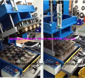 Rubber Curing Press with Full Automatic Control From Simens Op System pictures & photos