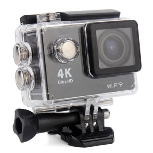 HD 4k Kamera Akcja 30m Waterproof Underwater WiFi Sport Camera pictures & photos