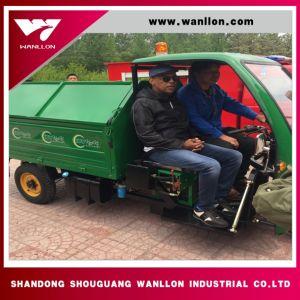 Three Wheel Garbage Truck /Waste Disposal Truck pictures & photos