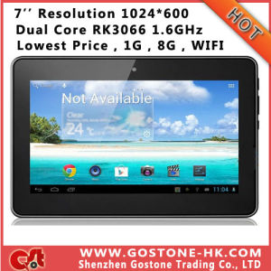 High Quality Dual Core Cube U9GT4 Android 4.1 Tablet PC 7′′ Inch 1024*600 Rockchip Rk3066 1.6GHz Camera WiFi 1g 8g
