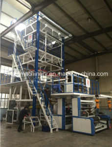 Five Layer Co-Extrusion Blown Film Blowing Machine pictures & photos
