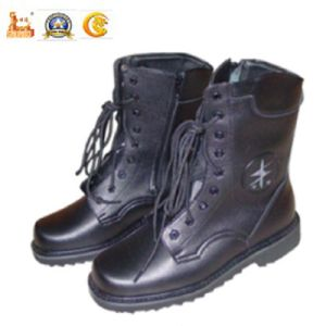 Police Equipment Hot Sale Real Leather Boots for Military (SDPS-4C) pictures & photos