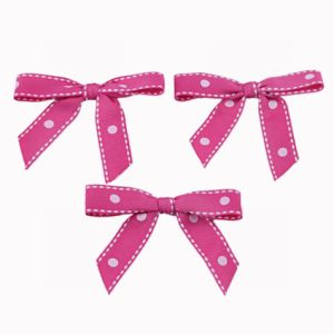 Pink Grosgrain Ribbon Bow pictures & photos