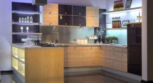 Modern Melamine MDF Kitchen Furniture (zg-045) pictures & photos