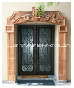 American Fashion Style Iron Security Door for House pictures & photos