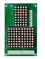 Super Light Big DOT Matrix Vertical Landing Call Display Board
