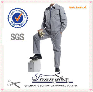 2016 Best Selling Coverall Work Men Cotton/Polyester Workwear pictures & photos