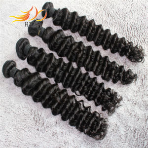 High Quality Deep Wavve Brazilian Virgin Remy Human Hair Weaving pictures & photos