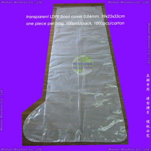 Disposable HDPE Boot Cover pictures & photos