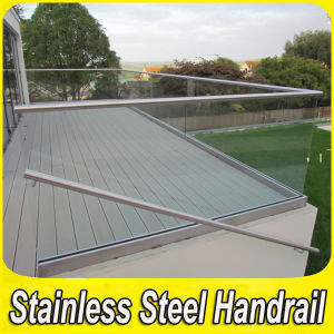 Stainless Steel Balcony U Channel Glass Balustrade pictures & photos