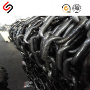 DIN 5685 Black Welded Steel Link Chain pictures & photos