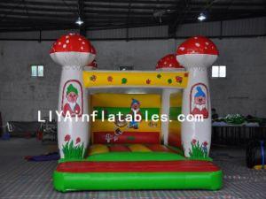 Inflatable Mushroom Jumping Castle (LY04216)