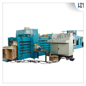 Full Automatic Pet Bottles Baler Recycling Machine pictures & photos