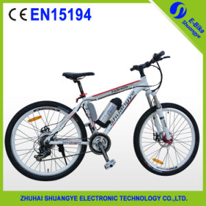 36V8ah 26 Inch Cheap Aluminum Alloy Frame Electric Mountain Bike pictures & photos