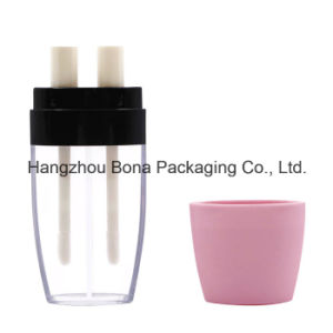 2*5ml Double Lip Glossy Bottle Clear Bottle pictures & photos