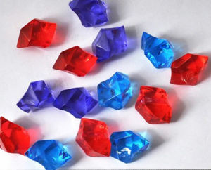 Clear Acrylic Decoration Beads