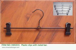 Plastic Plated Clips Metal Adjustable Regular Bottom Hangers pictures & photos