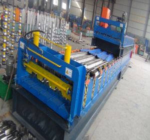 Stainless Steel Structural Floor Deck Roll Forming Machine pictures & photos