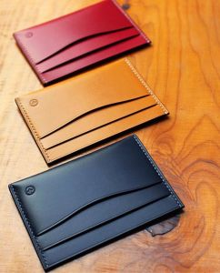Good Quality and Simple Design Leather Phone Purse and Card Holder