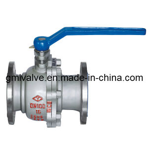 Stainless Steel Double Flange Ball Valve