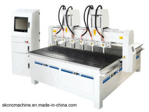6 Heads CNC Woodworking Engraving Machine CNC Carving Machine