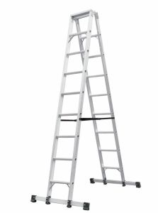 Aluminum Alloy A-Shape Ladder with Balance Beam pictures & photos