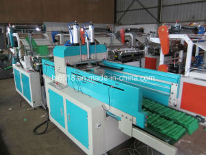 Full Auto Plastic Vest Bag Making Machine pictures & photos