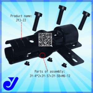 Pipe Joint for Lean Tube Shelf Assembly|Metal Clamp