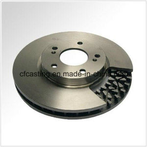 Sand Cast Auto Part Brake Disc with Machining pictures & photos