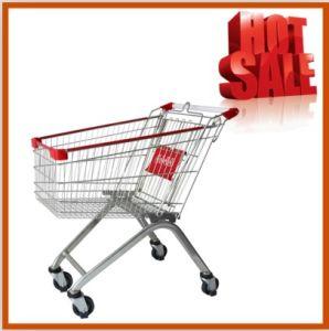 High Quality European Shopping Trolley 150L