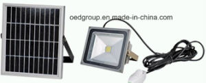 20W Solar Powered LED Flood Light, Manual Induction Floodlight pictures & photos
