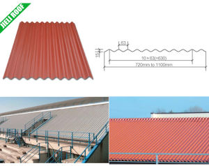 Corrugated Plastic Roofing Sheet pictures & photos