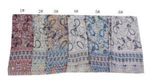 Fashion Infinity Scarfs Winter Warm Plaid Woman Tube Scarf Tartan Scarves pictures & photos
