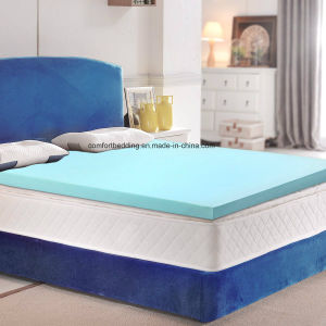 Hot Sale Cool Gel Infused Topper Memory Mattress Topper pictures & photos