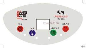 Panel Pad Touch Graphic Overlay LED Switch pictures & photos