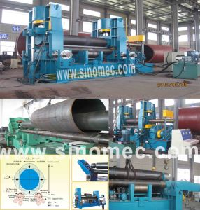 Hydraulic Three Rollers Bending Machine W11s-20X4000 pictures & photos