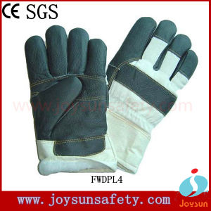 Winter Furniture Leather Glove Worker Safety Working (FWDPL4)