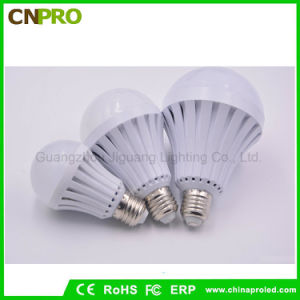 Wide Voltage Range E27 5W 7W 9W 12W LED Smart Emergency Bulb Lighting pictures & photos