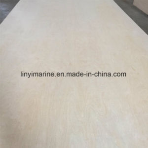 Birch Plywood Poplar Core E1 Glue 1220mm*2440mm pictures & photos