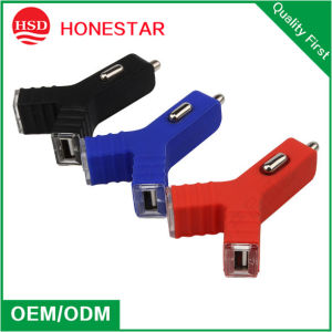 Korea Style Dual USB Car Charger 5V 2.1A for Samsung Phone pictures & photos