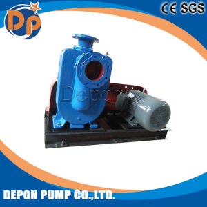 Belt Driven Sewage and Clean Water Self Priming Pumps pictures & photos