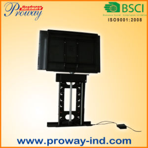 """Motorized TV Stand TV Lift for 32""""-50"""" Tvs, with IR Remote Height Adjustable and 360 Degree Swivel pictures & photos"""