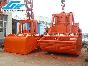 25t Electro Hydraulic Clamshell Grab for Deck Crane (SWL25T 6-12m3) pictures & photos