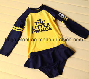 Long Sleeve Swimming Wear for Kids, Professional Swimming Suit pictures & photos