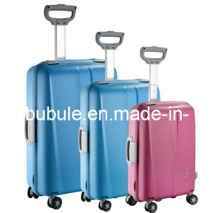 2017 Hot Wheeled Trolley Cases PP Luggage pictures & photos