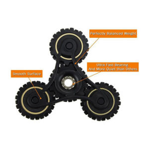 OEM Chinese Manufacturers Hot Gyroscope Fidget Toys Gear Fidget Spinner pictures & photos